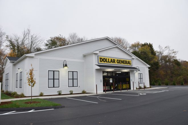 exterior of Dollar General store